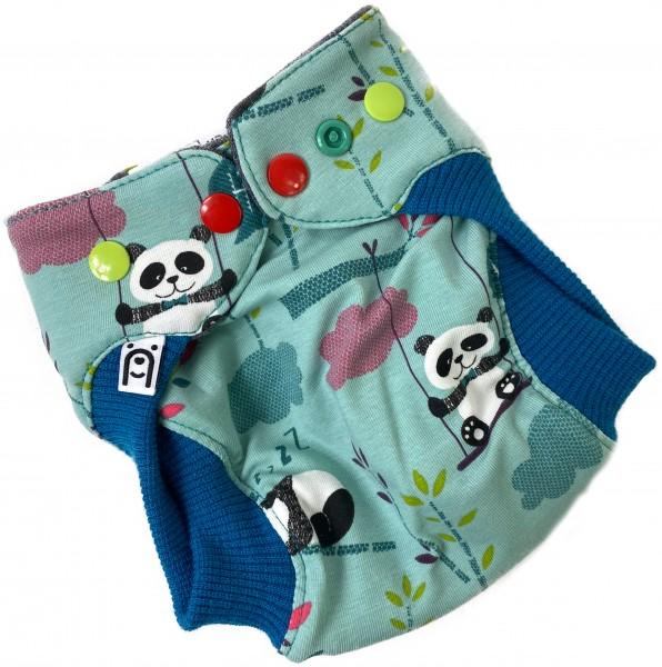 Newborn Wollwindel Hey Panda