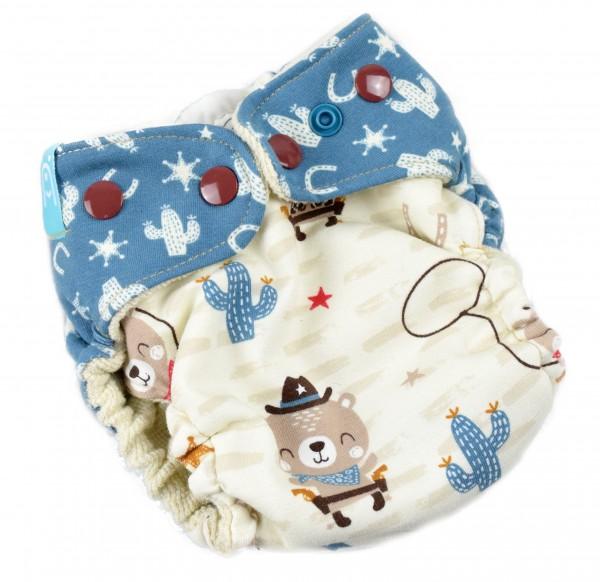 Newborn Wollwindel CowboyBär