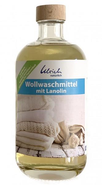 Ulrich natürlich Wollwaschmittel mit Lanolin Glasflasche