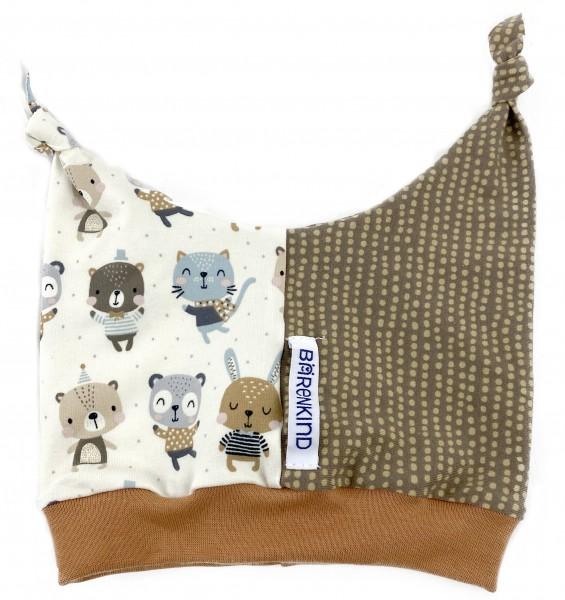 Hörnchen-Mütze Bärenparty