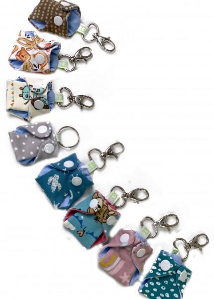 Mini Windel Schlüsselanhänger